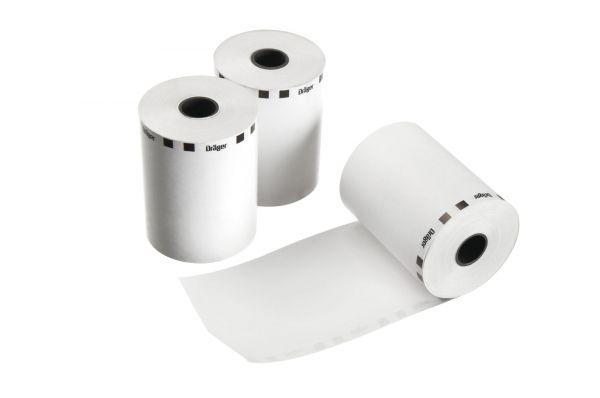 Dräger Thermodruckerpapier (25 Jahre)