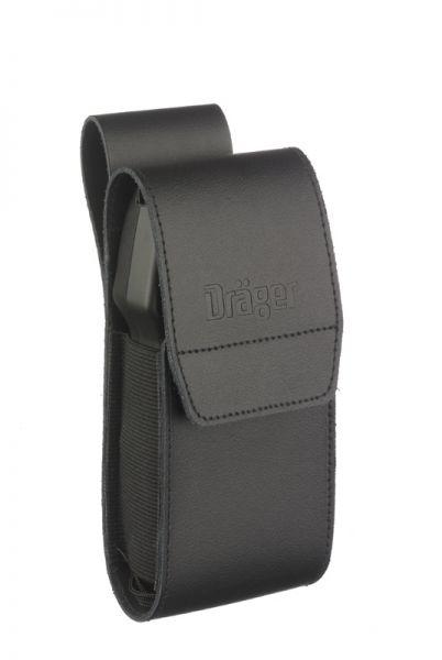 Ledertasche für Dräger Alcotest® (schwarz)